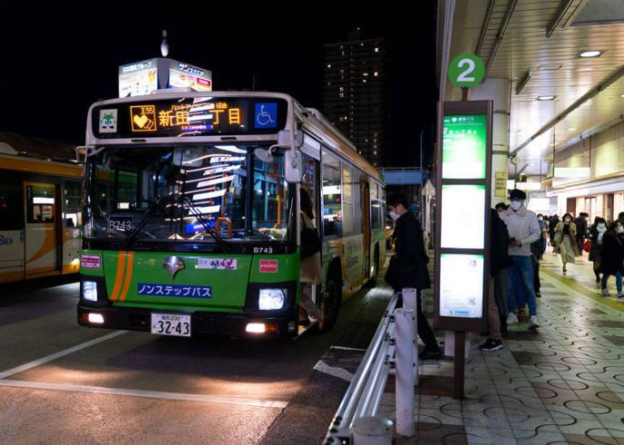 Terminal bus di Jepang