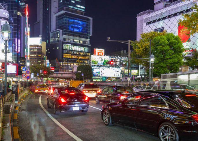 Lalu lintas di Jepang