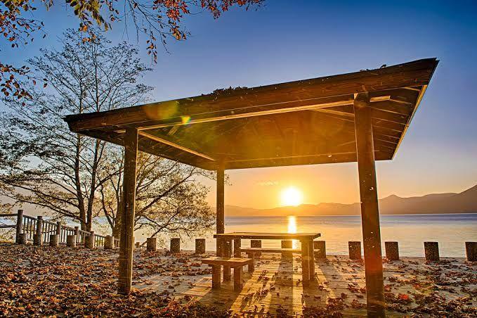 Danau Shikotsu Hokkaido Jepang