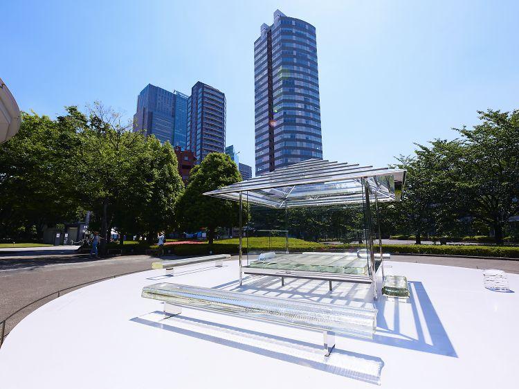instalasi karya seni tokyo jepang japanesestation.com