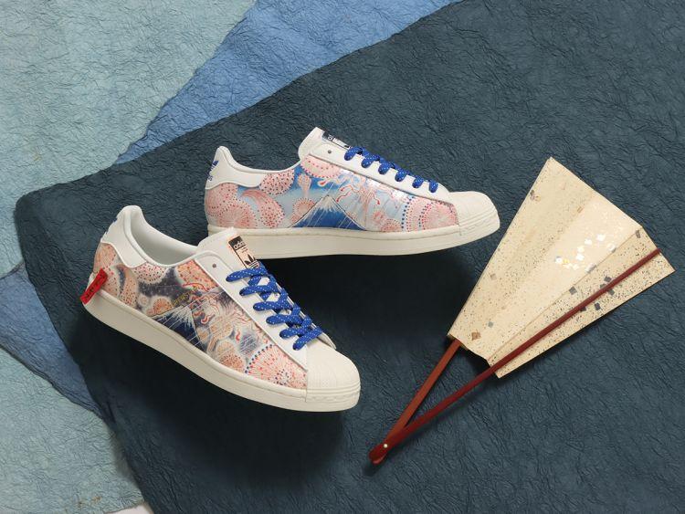 Sneaker Kolaborasi Adidas dan Ukiyoemon