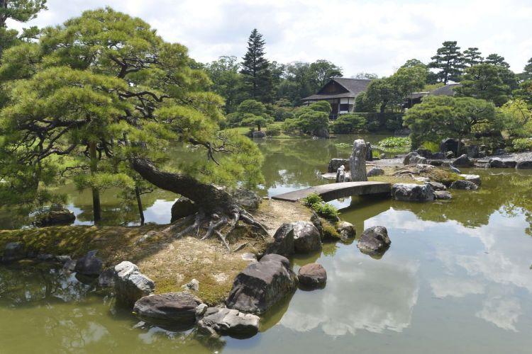 Runner-up Taman Katsura Rikyū di Kyoto