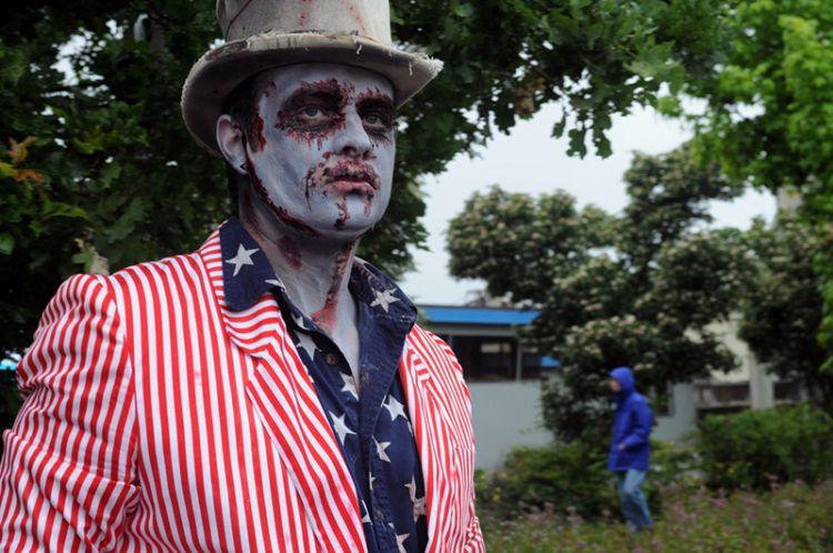 Zombie Paman Sam