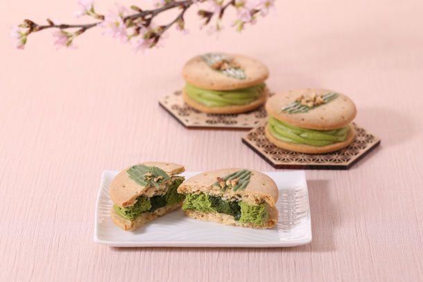 Uji Matcha Cheese Cream Sandwich