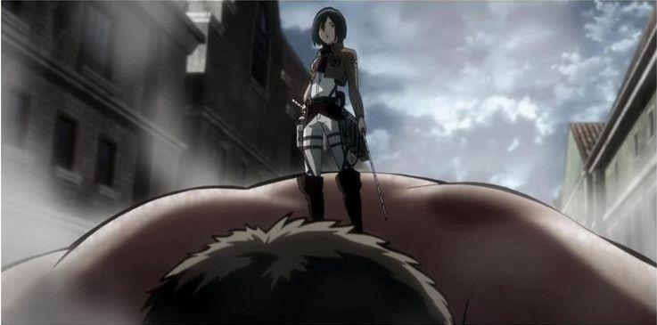 mikasa attack on titan japanesestation.com