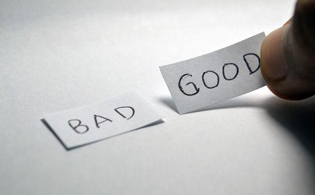 Ilustrasi Baik dan Buruk