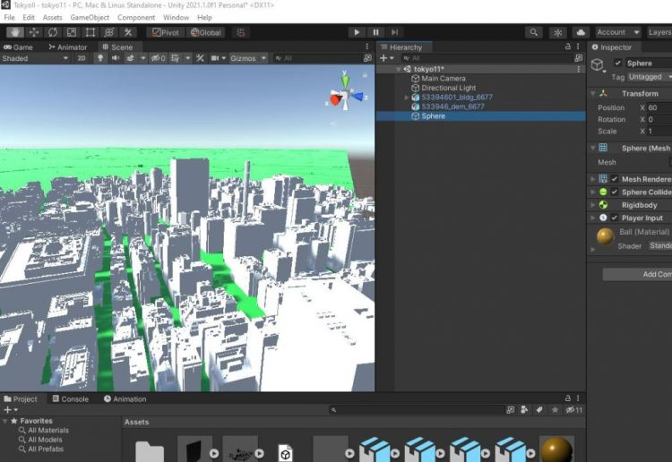 3d model digital Tokyo buatan Jepang bisa digunakan secara gratis japanesestation.com