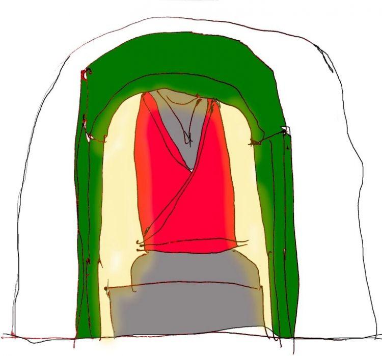 Gambaran ingatan Butch di Terowongan Oshima