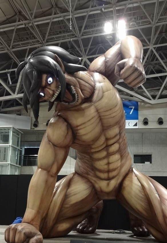 Titan eren dan karakter attack on titan lainnya akan hadir di yokohama japanesestation.com