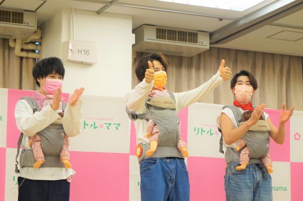 Aloma boygroup jepang yang mendukung para ibu membesarkan anak japanesestation.com