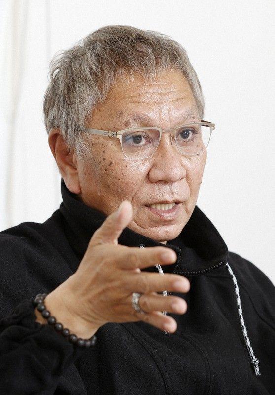 Sutradara Takashi Miike saat diwawancarai