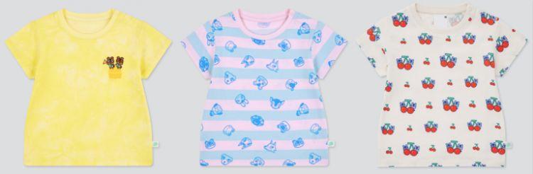 Baju bayi kolaborasi Uniqlo dengan Animal Crossing