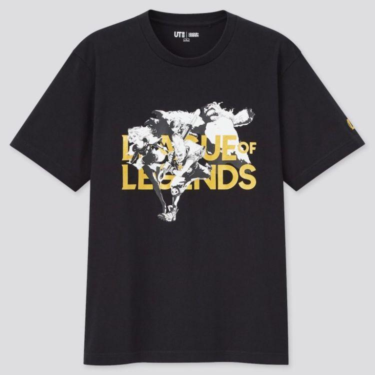 Kolaborasi Uniqlo dengan League of Legends