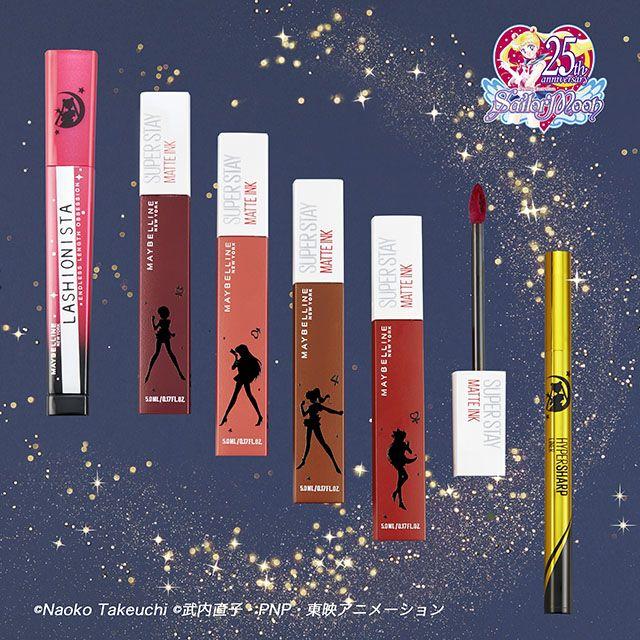 Maybelline rilis makeup terbaru hasil kolaborasi dengan sailor moon japanesestation.com