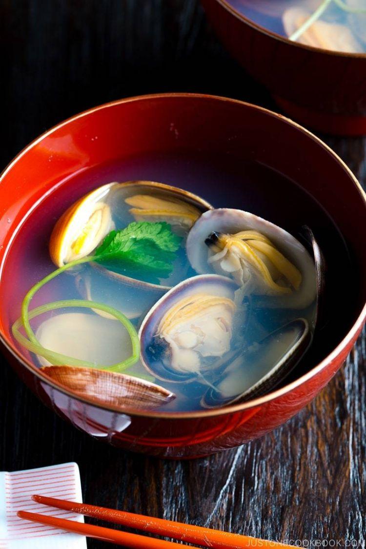 Sup Kerang Bening Jepang (Ushio-Jiru)
