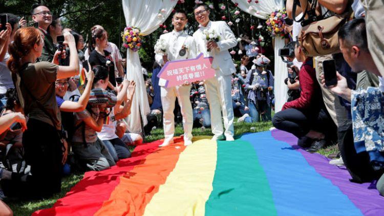 Pernikahan di Taipei