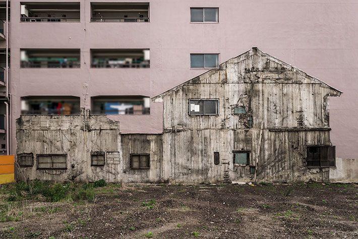 Foto penampakan rumah di lahan kosong