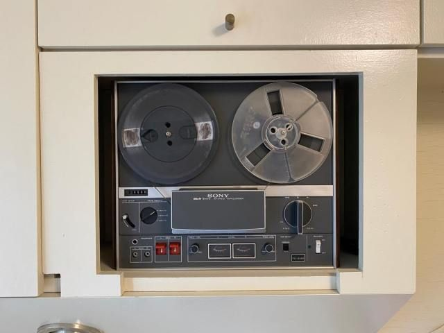 Tape recorder Sony reel-to-reel