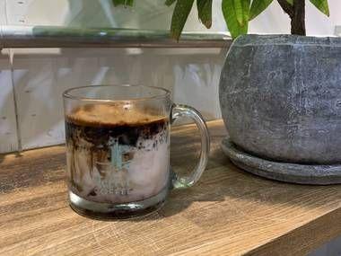 Coffee Jelly Anmitsu Latte